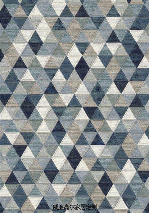 Brown And Blue Patterned Bathroom Rugs: 北欧风格地毯素材_威廉高尔(云织设)官网