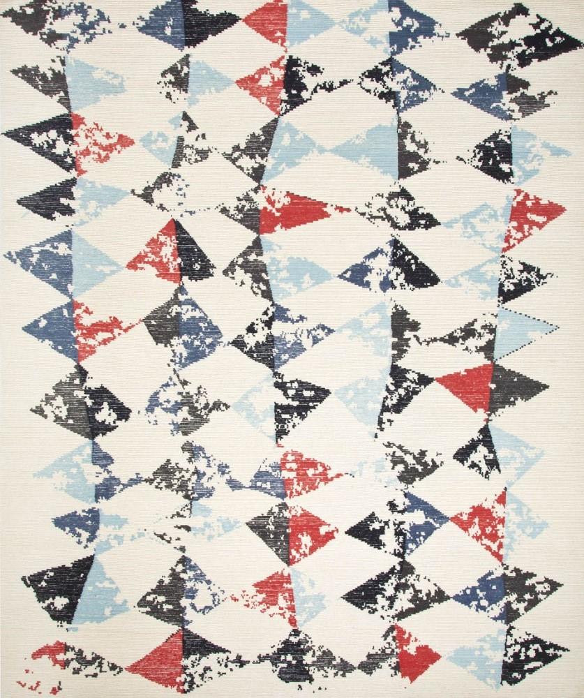 现代简约几何三角图案地毯贴图图片
