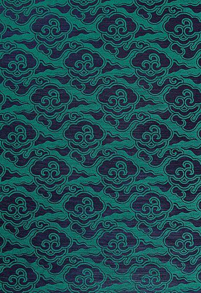 新中式鲤鱼图案地毯贴图图片
