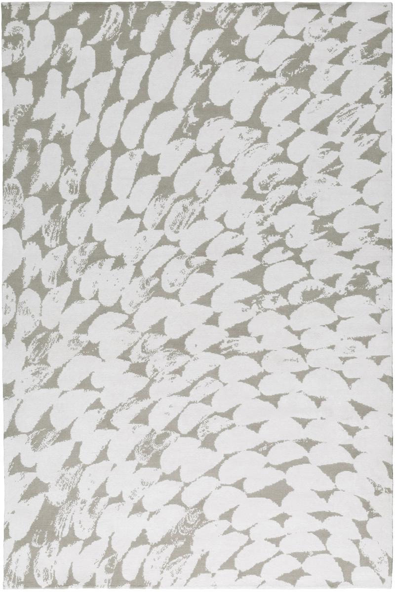现代白灰色几何图案地毯贴图图片