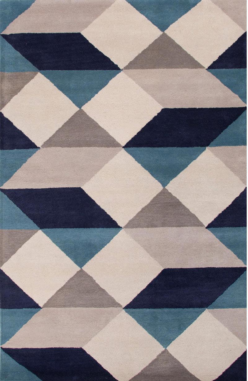 现代风格简单几何纯色图案地毯贴图图片