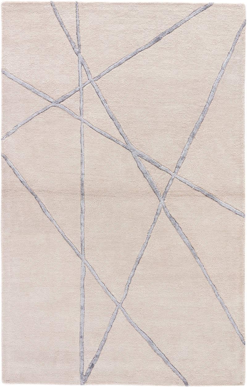 现代风格粉灰色简单几何线条图案地毯贴图图片